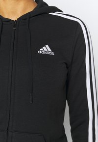 adidas Performance - veste en sweat zippée - black/white - 5