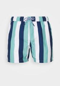 Burton Menswear London - VERTICAL STRIPE - Plavky - mint/white - 2