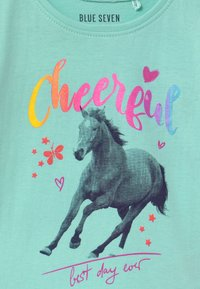 Blue Seven - SMALL GIRLS HORSE - Print T-shirt - aqua - 2