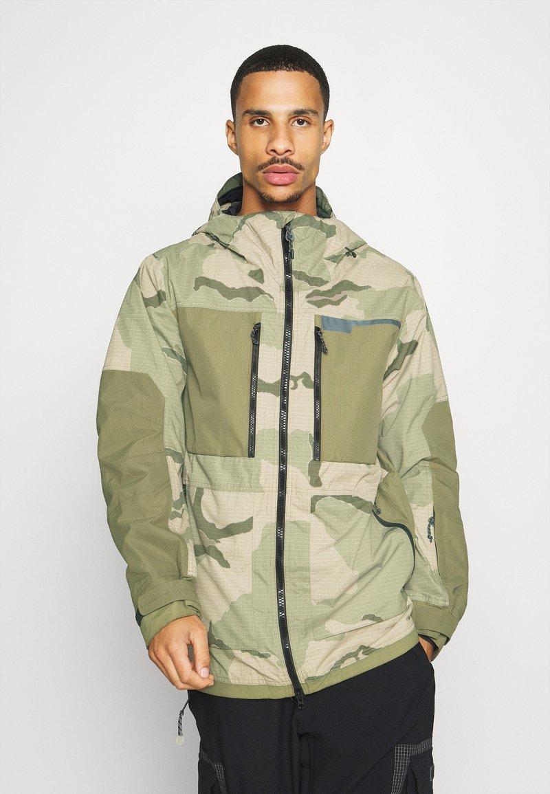 Burton - FROSTNER - Snowboard jacket - barren/keef
