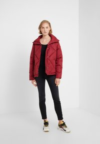Save the duck - MEGGA - Winter jacket - mineral red - 1