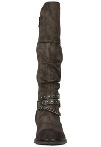 Mustang - Cowboy/Biker boots - dunkelgrau 20 - 4