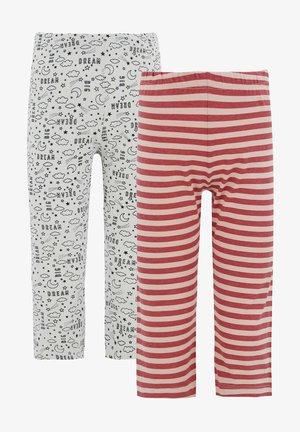 2 PACK - Leggings - Trousers - pink