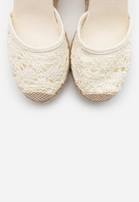New Look - TROPICAL - High heeled sandals - offwhite - 5