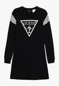 Guess - JUNIOR DRESS - Sukienka dzianinowa - jet black - 0