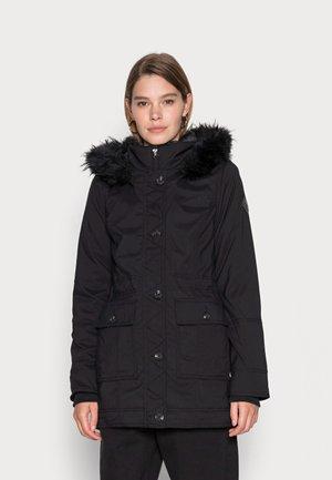 LINED - Winter coat - black beauty