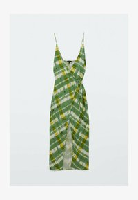 Massimo Dutti - Day dress - green/white - 0