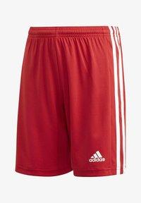 adidas Performance - SQUADRA 21 SHORTS - Pantalón corto de deporte - red - 0