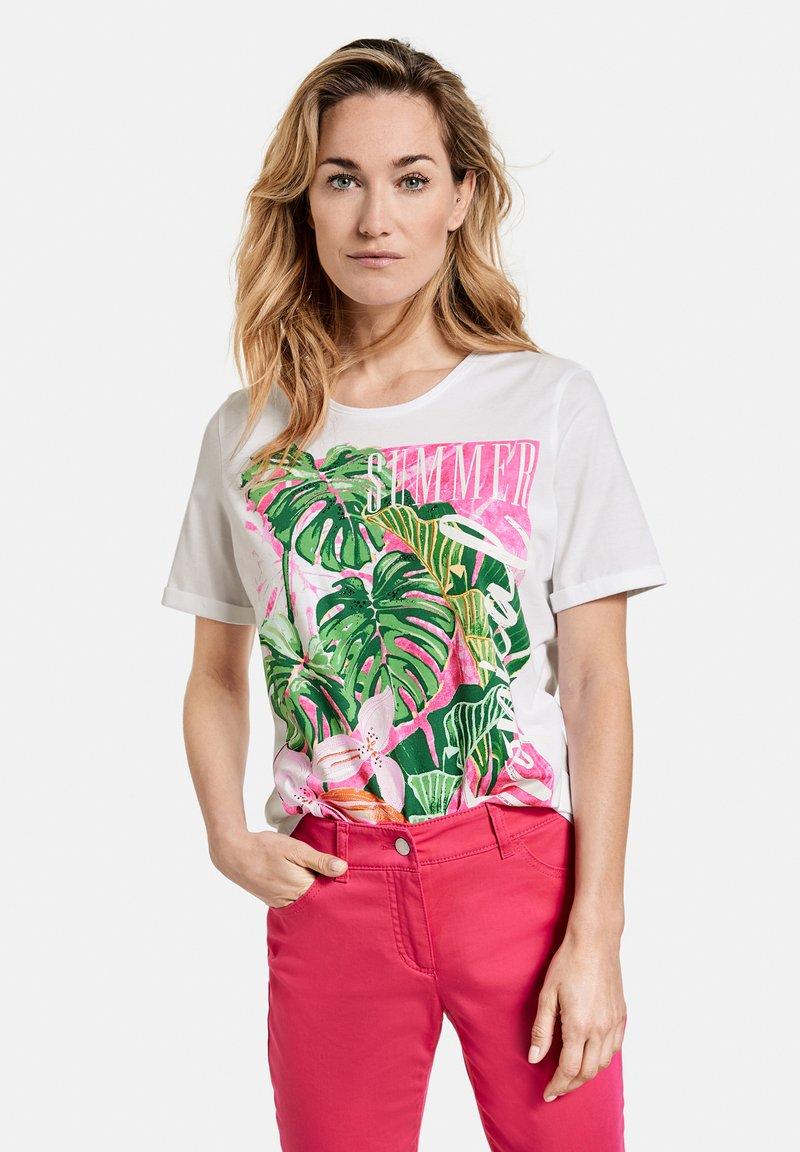Gerry Weber Casual - T-shirt print - white