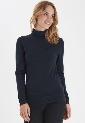 PAMILA - T-shirt à manches longues - mel. deep teal