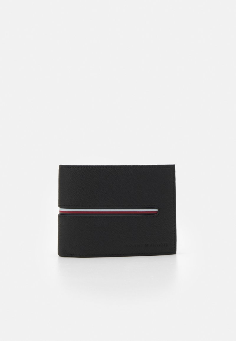 Tommy Hilfiger - DOWNTOWN FLAP AND COIN - Wallet - black