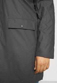 Vero Moda Curve - VMASTA COATED JACKET - Classic coat - asphalt - 4