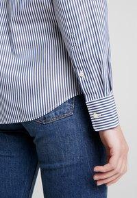 GANT - THE BROADCLOTH BANKER - Button-down blouse - indigo blue - 3