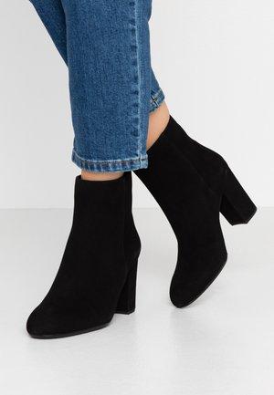 OSBORN - Kotníková obuv na vysokém podpatku - black