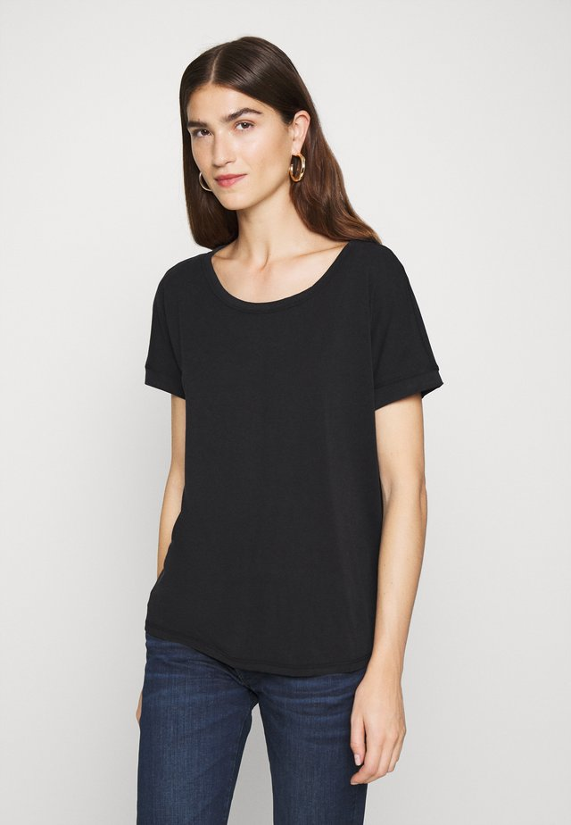 FENYA TEE - T-shirt basique - black