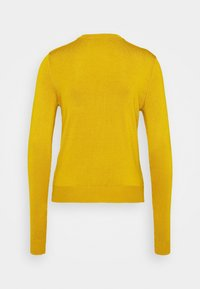 Marks & Spencer London - CREW CARDI PLAIN - Strikjakke /Cardigans - yellow - 7