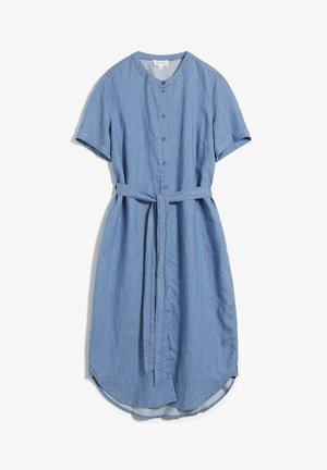 MAARE - Denim dress - foggy blue