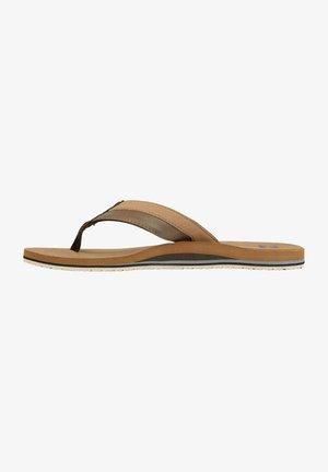 ALL DAY IMPACT - Sandalias de dedo - camel