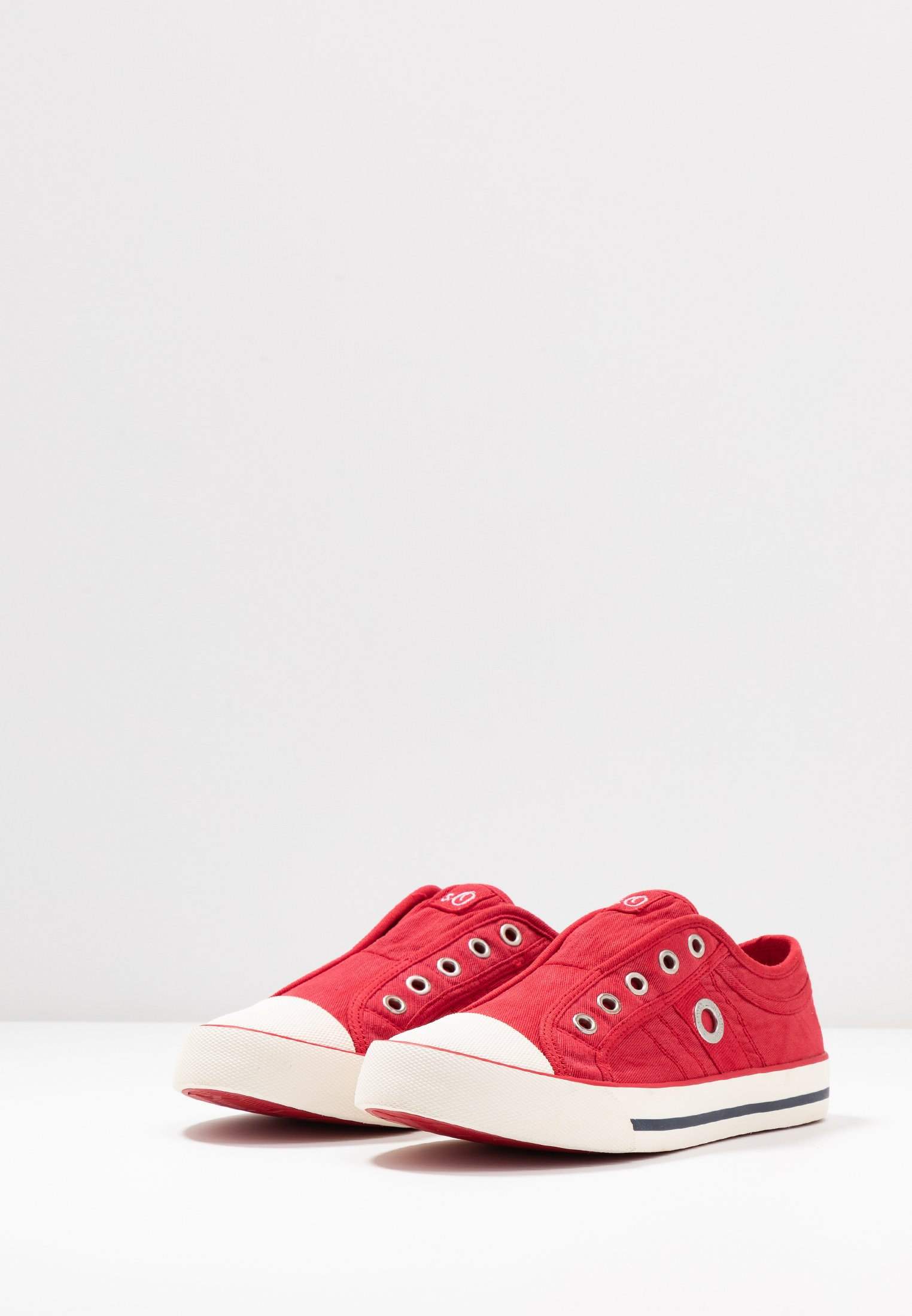 s.Oliver Mocassins - red - Sneakers femme Classique
