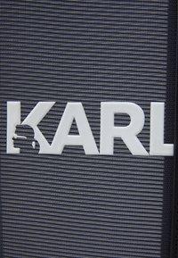 KARL LAGERFELD - PRINTED LARGE TOTE - Cabas - black/white - 4