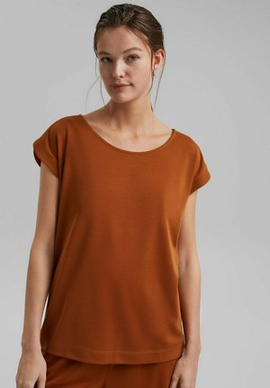 FASHION - T-shirt basic - caramel