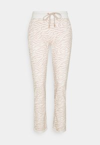 LASCANA - PANTS - Pyjama bottoms - nougat zebra - 4