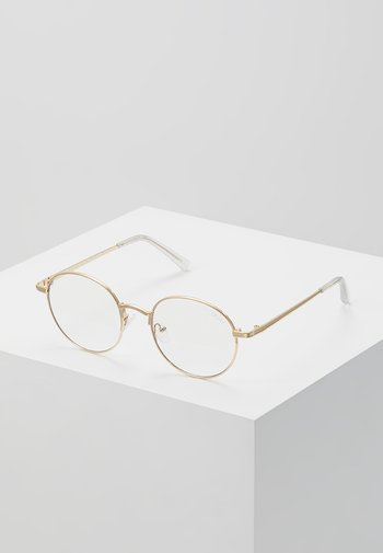 I SEE YOU BLUE LIGHT - Other accessories - gold-coloured/clear