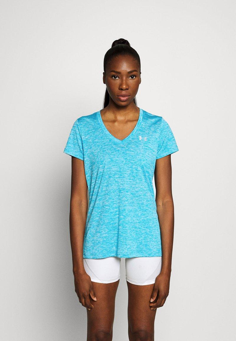 Under Armour - TECH TWIST - Basic T-shirt - equator blue