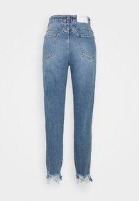 CLOSED - PEDAL PUSHER - Jean slim - mid blue - 8