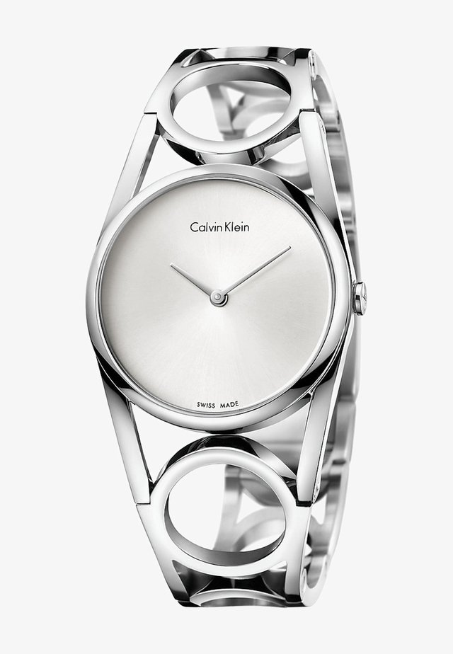 ROUND  - Watch - silver-colored