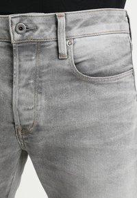 G-Star - 3301 SLIM - Džíny Slim Fit - kamden grey stretch denim light aged - 3