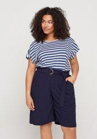 Zizzi - Shorts - blue - 0