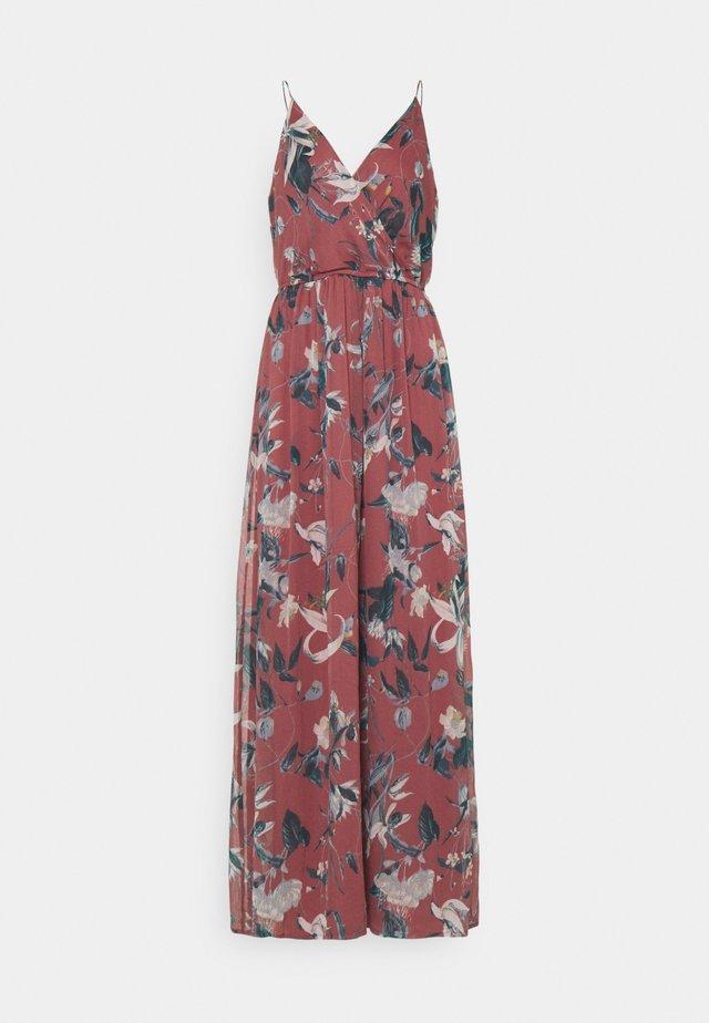 VMWONDA WRAP DRESS - Maxi šaty - rose brown