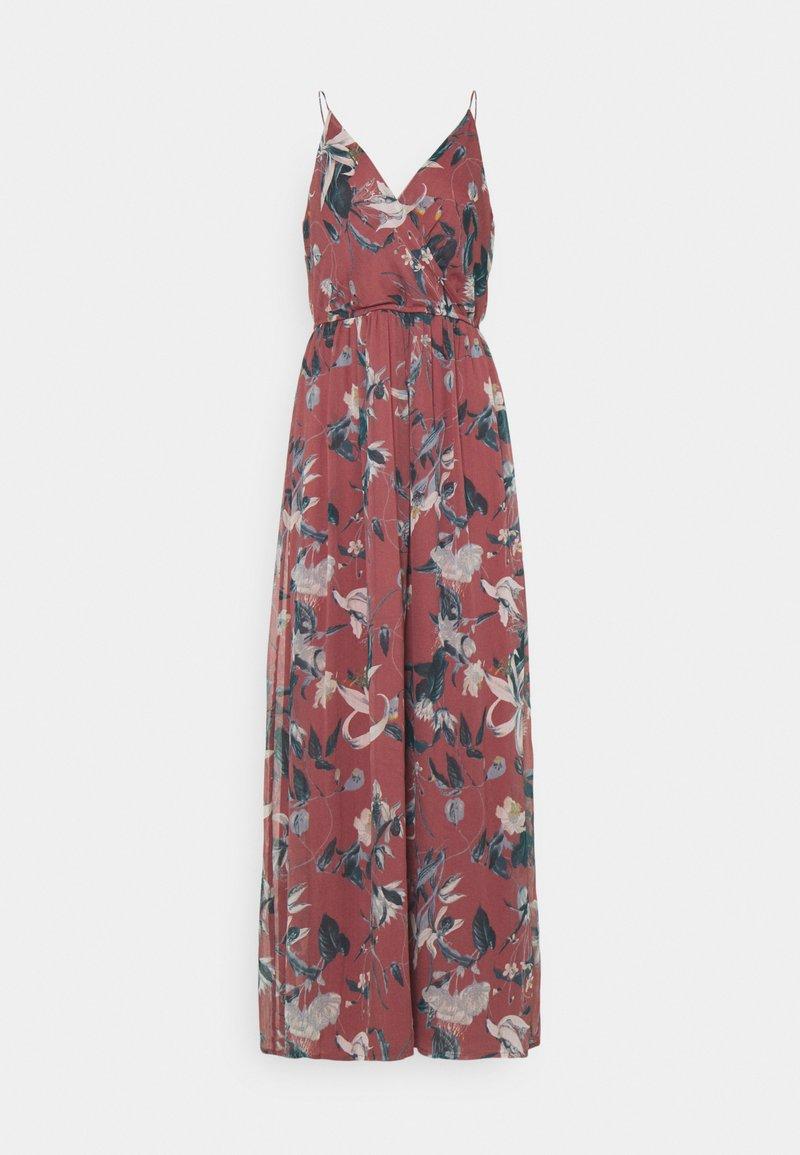 Vero Moda - VMWONDA WRAP DRESS - Maxi dress - rose brown