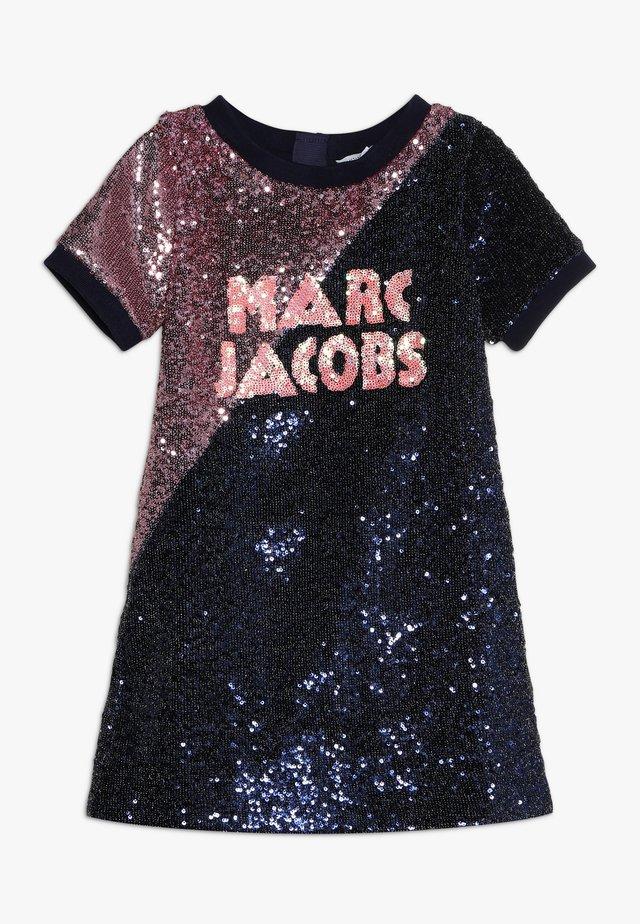 Cocktail dress / Party dress - dark blue/light pink