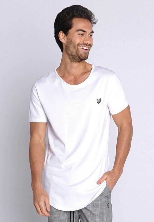 KJELD - T-shirt basic - white