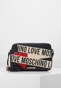 Love Moschino - BORSA AVORIO - Taška spříčným popruhem - black - 1