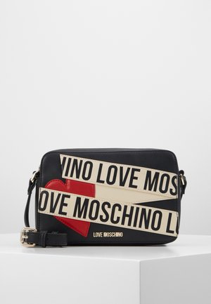 BORSA AVORIO - Across body bag - black