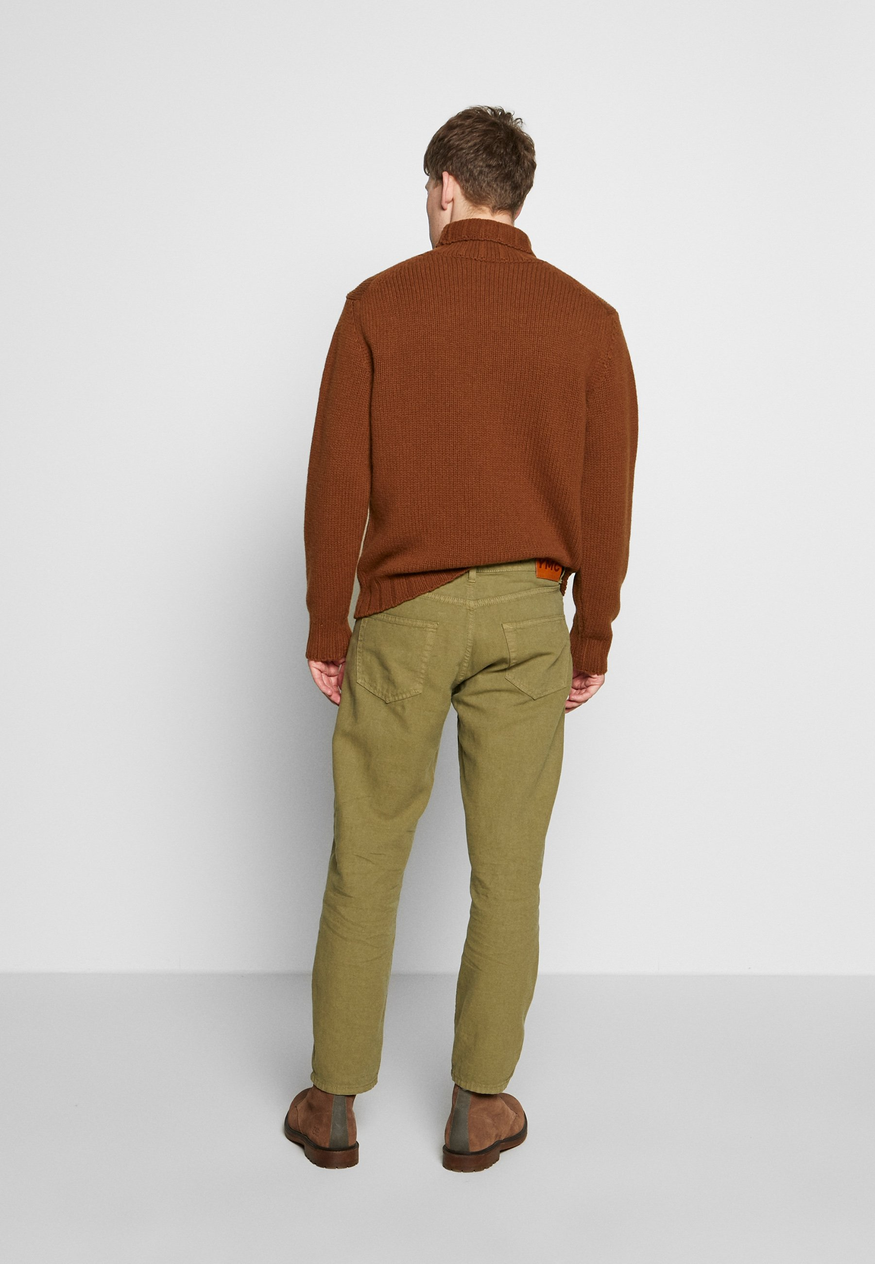 Ymc You Must Create Tearaway - Relaxed Fit Jeans Olive