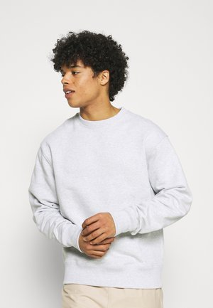 BASICS CREWNECK UNISEX - Sweatshirt - light grey melange