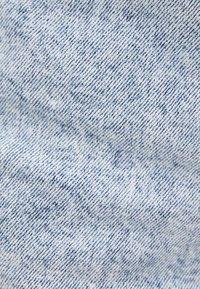 Bershka - MIT SCHLEIFE - Denim shorts - light blue - 4