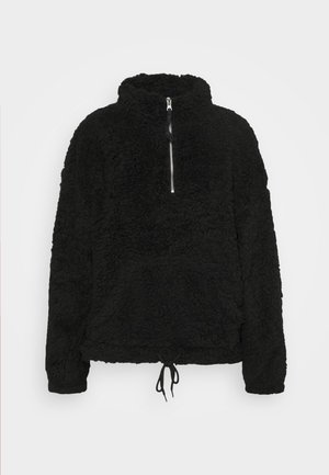 TEDDY 1/2 ZIP  - Fleece jumper - black