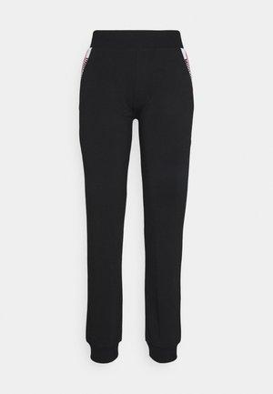 HOME PANTS - Pyjamasbukse - black