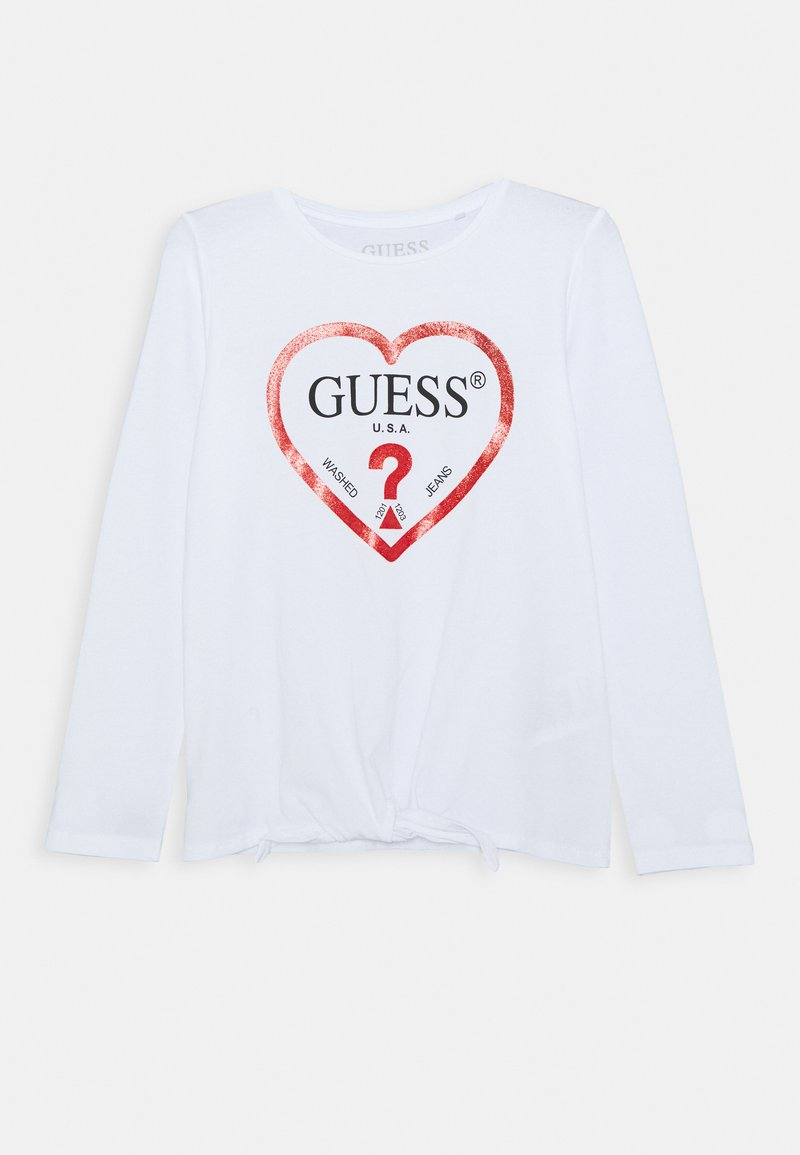 Guess - JUNIOR - Top s dlouhým rukávem - true white