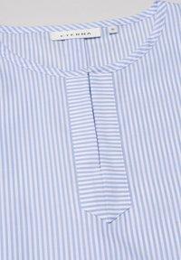 Eterna - MODERN CLASSIC - Blouse - light blue/white - 5