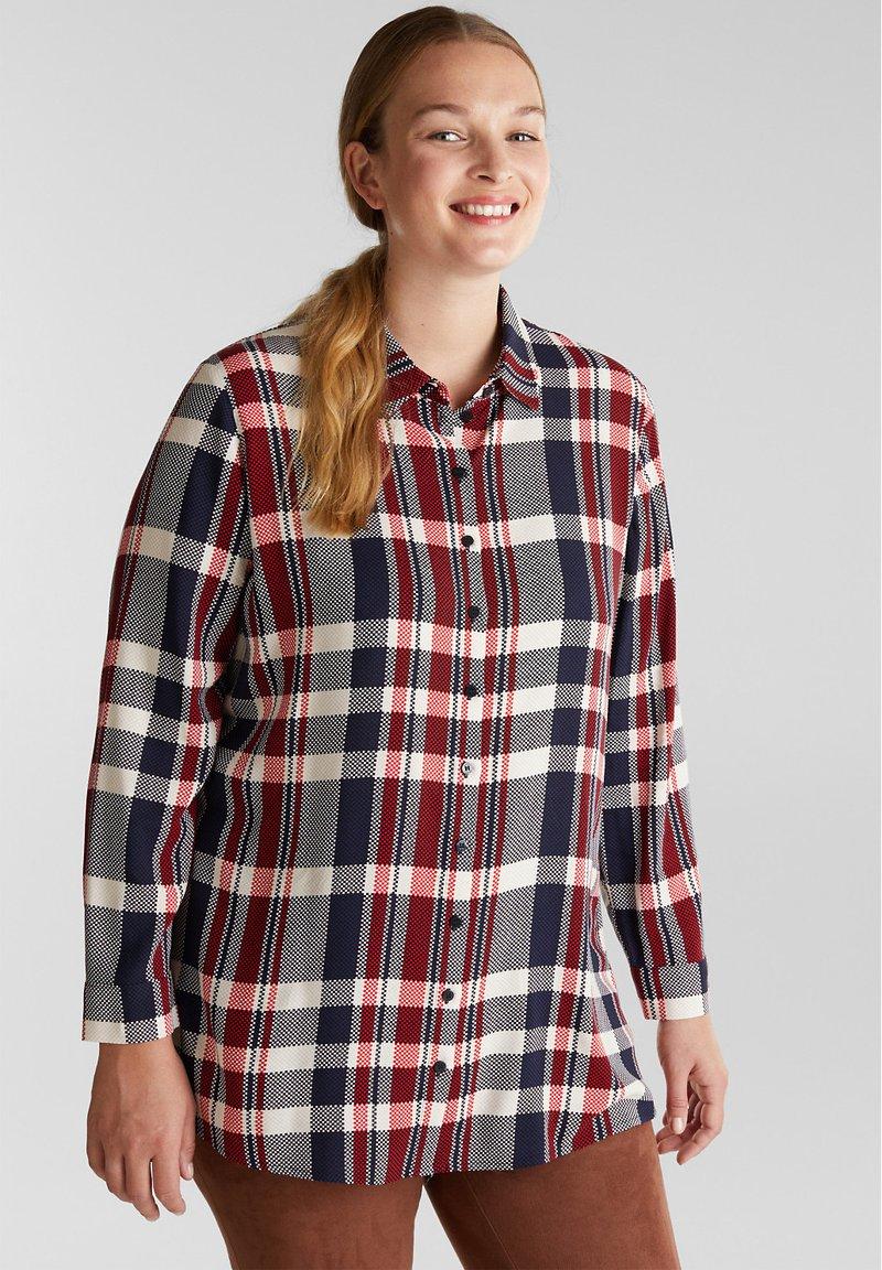 Esprit - Button-down blouse - navy