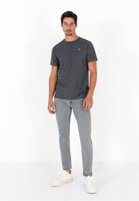 Scalpers - FIVE POCKETS PANTS - Trousers - grey - 1
