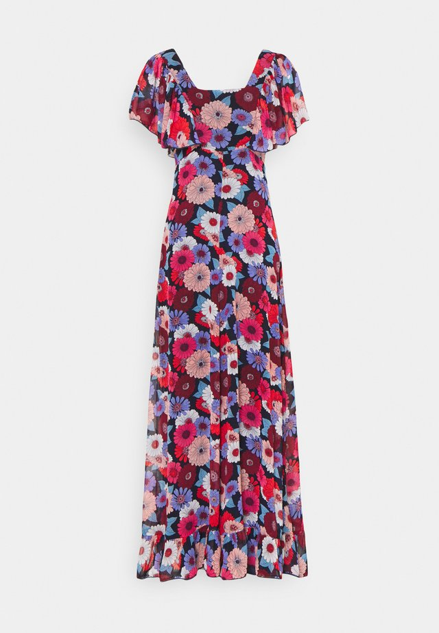 LADIES DRESS - Maksimekko - gerbera/navy