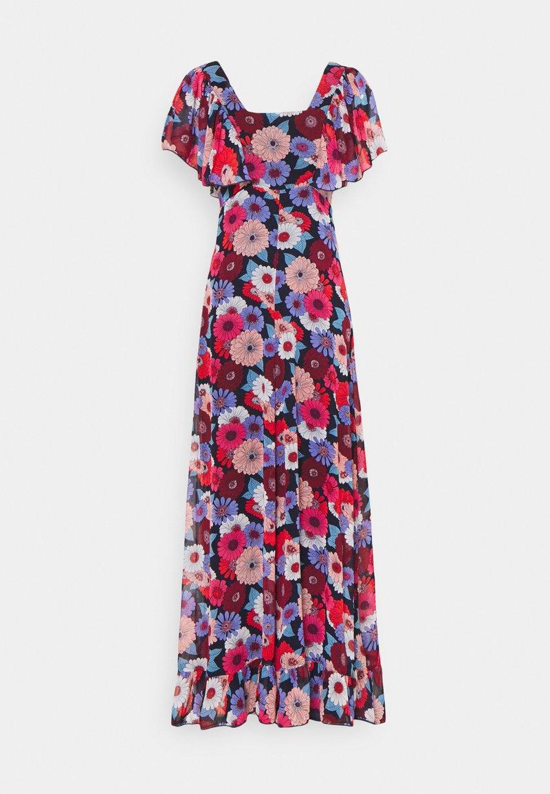 Molly Bracken - LADIES DRESS - Długa sukienka - gerbera/navy