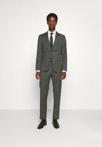 Calvin Klein Tailored - EXCLUSIVE MINIDOT SUIT - Suit - blue - 0